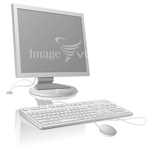 Computer royalty free stock image #195743680