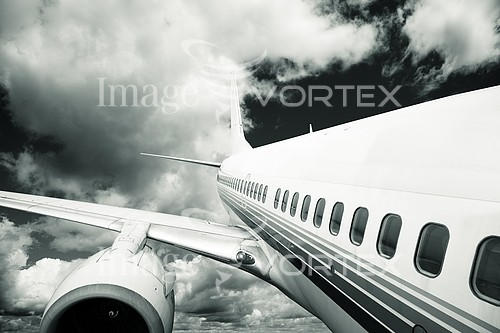 Airplane royalty free stock image #218940741