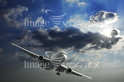 Airplane royalty free stock image #218957355
