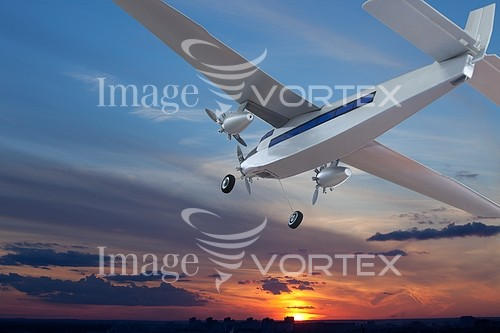 Airplane royalty free stock image #428897993