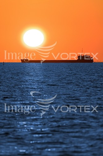 Sunset / sunrise royalty free stock image #551035682