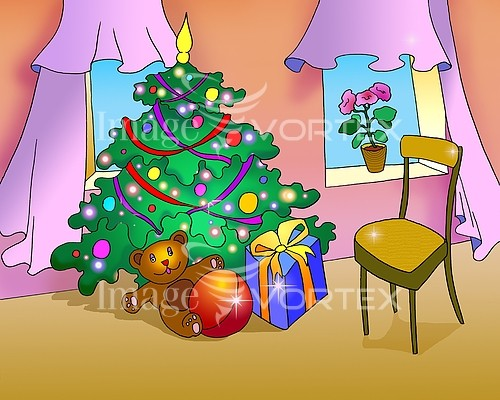 Christmas / new year royalty free stock image #933543721